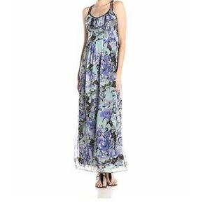 Jessica Simpson Floral Maxi Dress, Sz S